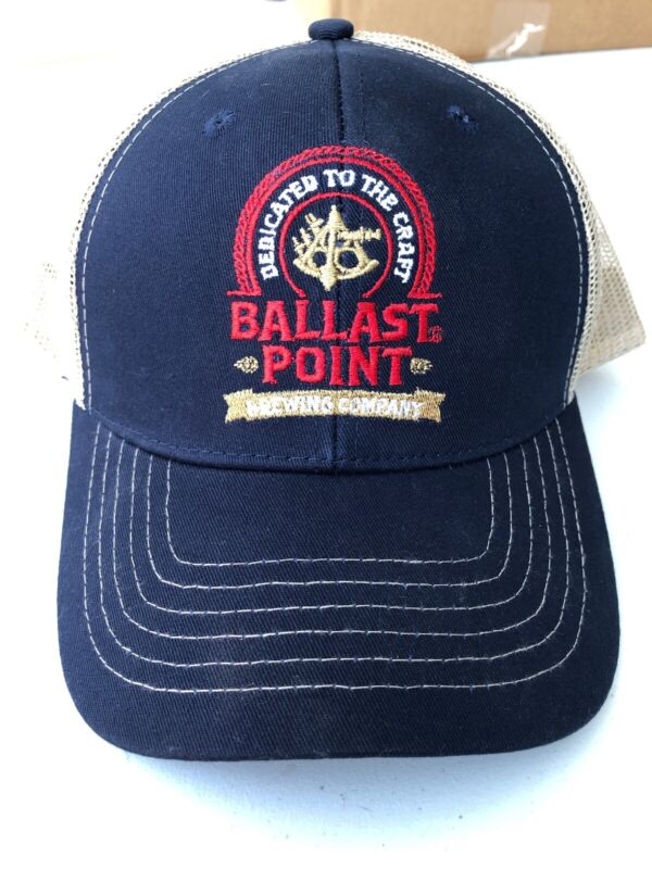 Ballast Point Brewing Co ~Snap Back~ Beer Hat~ Sculpin IPA~San Diego