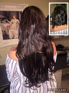 Russian Tape Hair extensions Brisbane