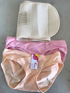 Maternity underwear and post pregnancy belt