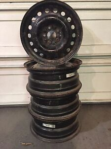 REDUCED!!! 4 - 17 Inch Steel Rims
