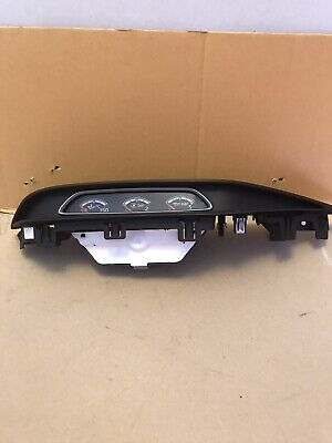 Ford Focus Turbo Boost Gauge Trim ST3 13 to 18 plate