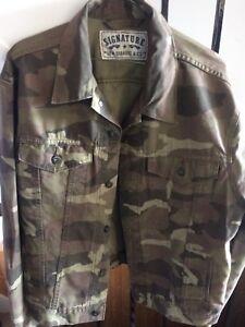 Levi camouflage jean jacket
