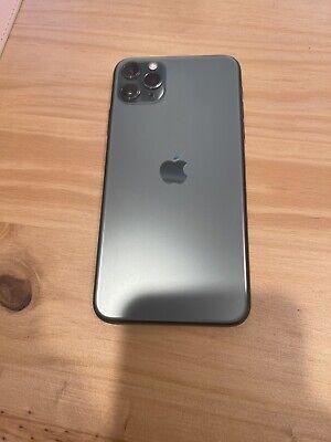 Apple iPhone 11 Pro Max 256gb Verizon Midnight Green Great condition