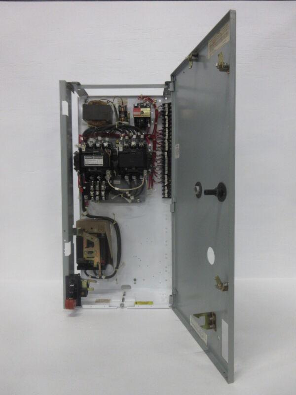 "General Electric GE 8000 Size 2 Reversing Starter 30 Amp Breaker 30"" MCC Bucket"