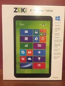 "Zeki 8"" brand new tablet"