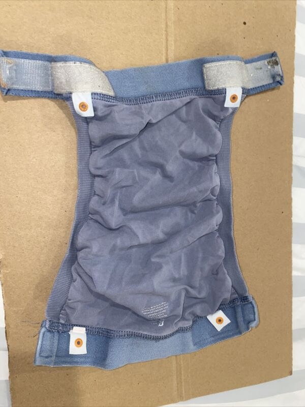 gDiapers - Group 5 - Large Denim Blue Gpant, 2 Liners, and 2 Gcloth Inserts
