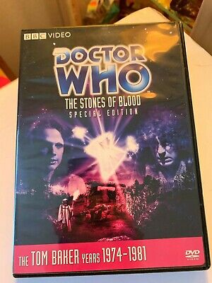 Doctor Who - The Stones of Blood - Tom Baker - Story 100 - Like New