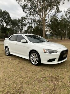 2013 Mitsubishi Lancer Vr-x Cvt Auto 6 Sp Sequential 4d Sedan