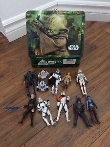 Lot de jouets star wars