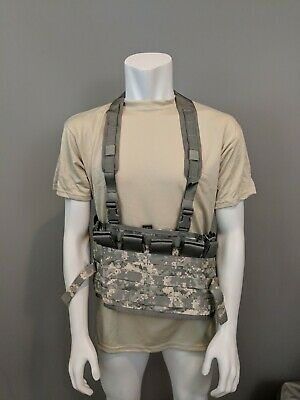 USGI MOLLE Chest Rig Tactical Assault Panel (TAP) Complete System ACU