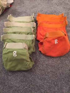 Small G cloth diapers