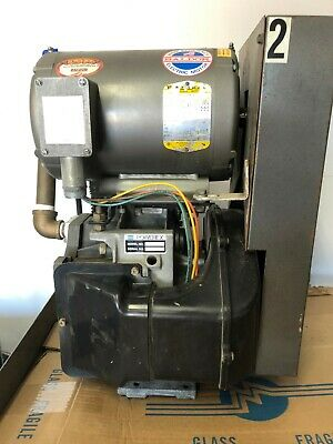 Powerex Oilless Rotary Scroll Air Compressor. Model Sael05 5hp