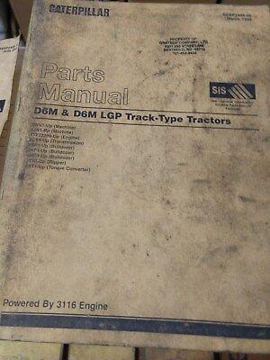 Caterpillar D6m D6m Lgp Track- Type Tractors Dozers Parts Manual