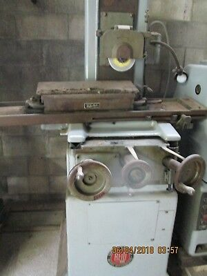 Reid Surface Grinder 618-h Pope Spindle Wwalker Perm. Mag.chuck Serial 10955