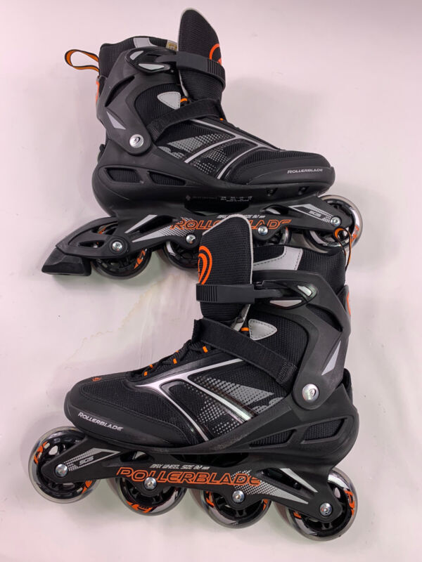 New ROLLERBLADES Zetra Blade black Orange Inline Skates Size 11 mens Never Used