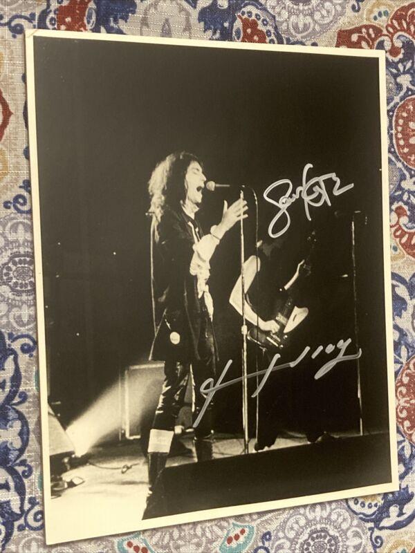 Patti Smith & Lenny Kaye Signed Photo