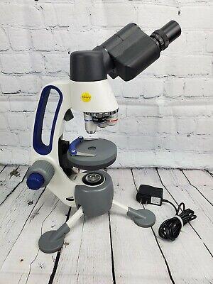 Swift M3-b Binocular Micro Macro Field Microscope 40x-400x Cordless