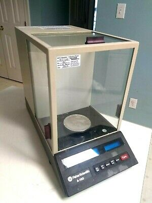 Fisher Scientific Denver Instruments A-160 Digital Scale Balance 100g X 0.4mg