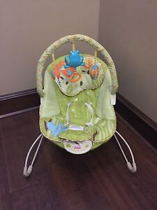 Fisher Price calming vibrations bouncy chair