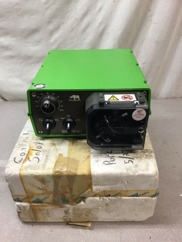 NEW Watson Marlow 504U MKII IP55 55RPM Peristaltic Pump 120/220-240V