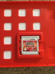 Pokemon omega ruby (game and case) Garran Woden Valley Preview