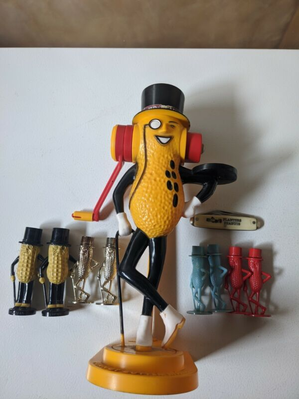 Planters Mr. Peanut Collection Advertising