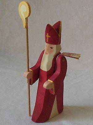 Ostheimer St Nikolaus mit Stab Cl II Neuheit 2014