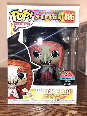FUNKO POP! WITCHIEPOO H.R. PUFNSTUF 2019 NYCC #896 Toy Tokyo Exclusive