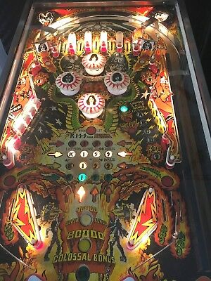 BALLY KISS PINBALL MACHINE 1978
