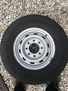 GM 2500 HD Winter Rims and Tires
