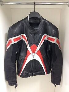 Leather Armoured Motorcycle Jacket