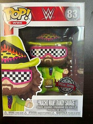Funko Pop Macho man randy savage 83 Special Edition