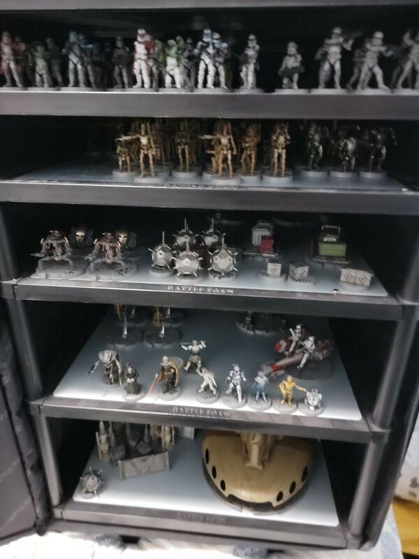 Star Wars Legion: Clone Wars Painted Lot Collection Huge Dooku Rex AAT