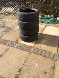 215/45/17 Michelin/Kumho used tires