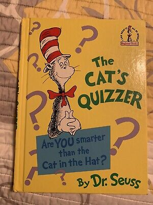 Dr. Seuss The Cat's Quizzer Hardcover Discontinued