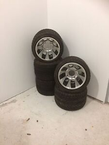 Brand new golf buggy mag wheels and tyres golf cart off road Redbank Plains Ipswich City Preview