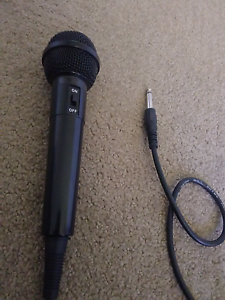 Microphone with cable Yanchep Wanneroo Area Preview