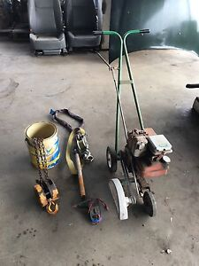Grass edger / block and tackle/ come along/ multi meter $100 the lot Beaconsfield Fremantle Area Preview