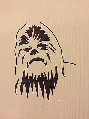 Chewbacca Vinyl Sticker, Star Wars, Chewy, Stickers