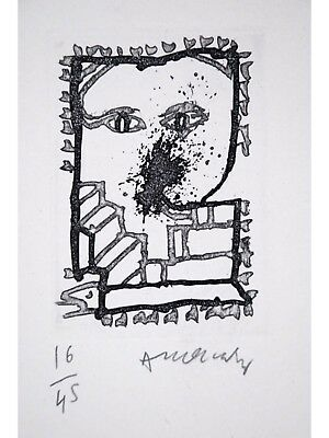Pierre ALECHINSKY s/n Etchings Baluchon et ricochets + BOOK 1994