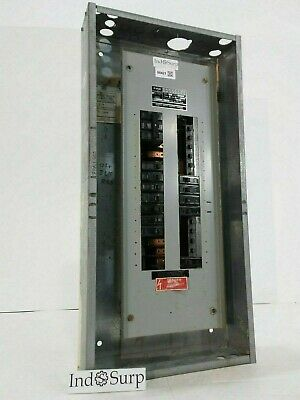 Fpe 225 Amp Panel With Breakers 120208 Volt 3 Phase 4 Wire Type Nqlp.