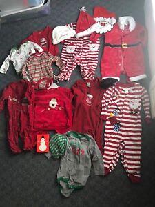 6-12mths Santa lot!