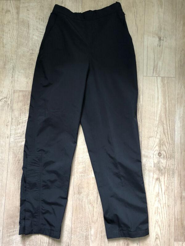 FootJoy DryJoys Women  Black Lined Waterproof Adjustable Golf Rain Pants Small S