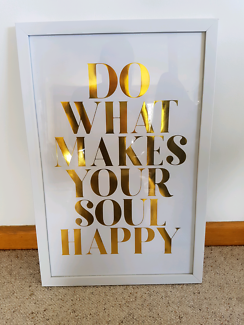 Kmart frame and quote love happy