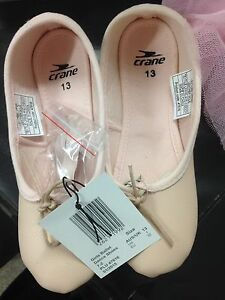 Brand new girls ballet shoes x2. 12 and 13 Springwood Blue Mountains Preview