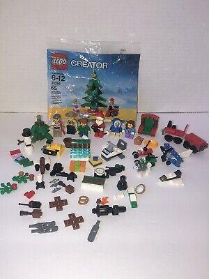 Lego 30286 Christmas Tree Set Sealed PLUS Mini Figures Etc. From Lego Advent