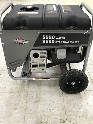 Briggs Stratton Generator Back Up Power Portable Commercial Grade Gas Power