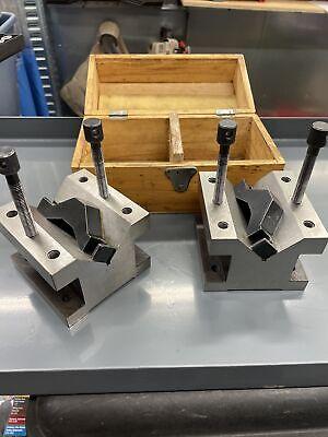 Phase Ii Machinist Toolmaker Matched Set Of 4-18 V Blocks