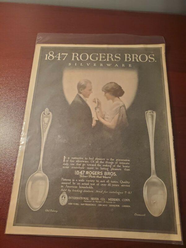 1847 roger bros siverware columbia batteries advertisement E1