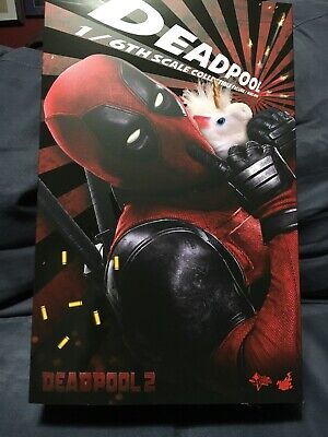 Hot Toys 1/6th MMS490 Deadpool 2 Original Loose New Empty Box